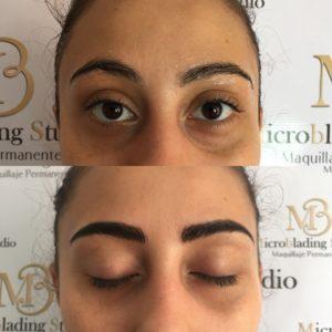 Micropigmentación de cejas pelo a pelo Bogotá